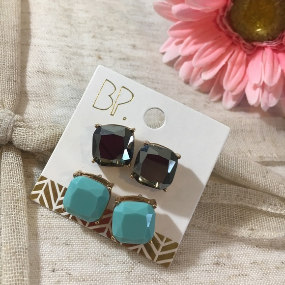 bp Jewelry - 🆕 BP Large Gem Stud Earrings